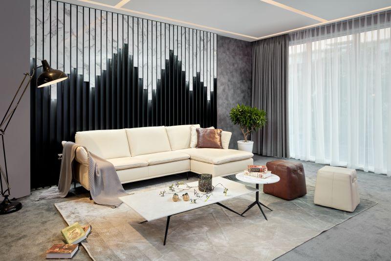 sofa góc L Serena