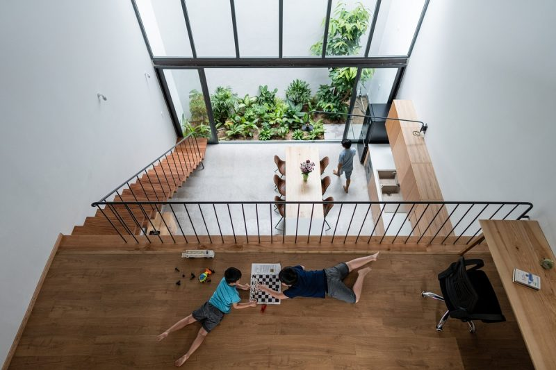 Không gian sinh hoạt của nhà 'ruộng bậc thang'