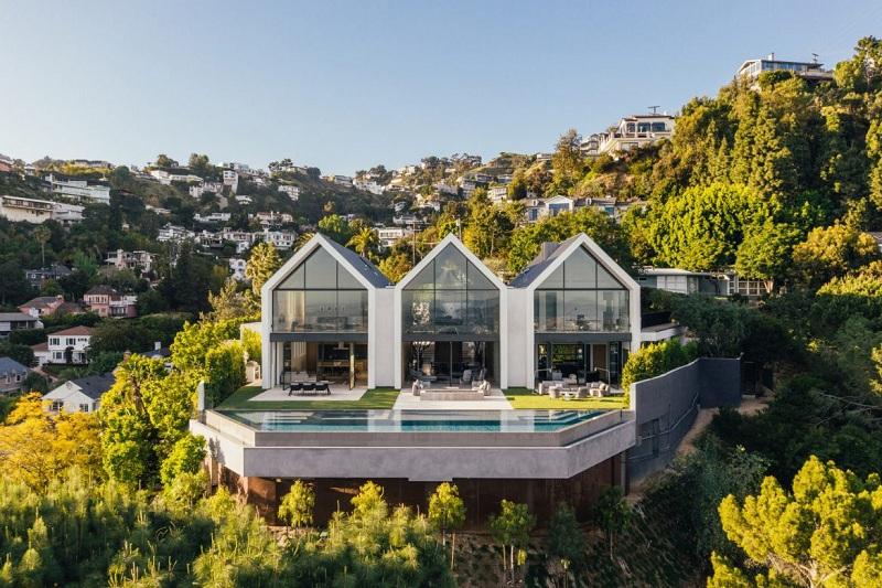 kiến trúc nhà ở LA