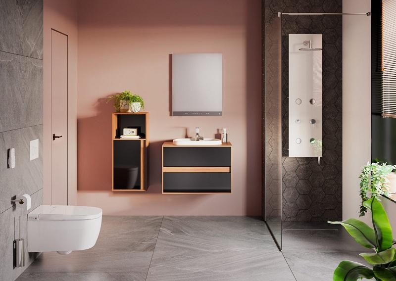Thiết kế phòng tắm trở thành không gian thư giãn tuyệt vời