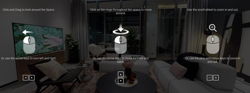 USERMANUAL – 360°MATTERPORT  HƯỚNG DẪN SỬ DỤNG THAM QUAN THỰC TẾ ẢO
