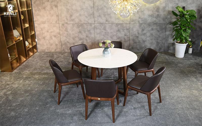 bộ bàn ghế ăn gỗ