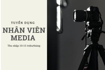 Tuyển Dụng Media – Phòng Marketing