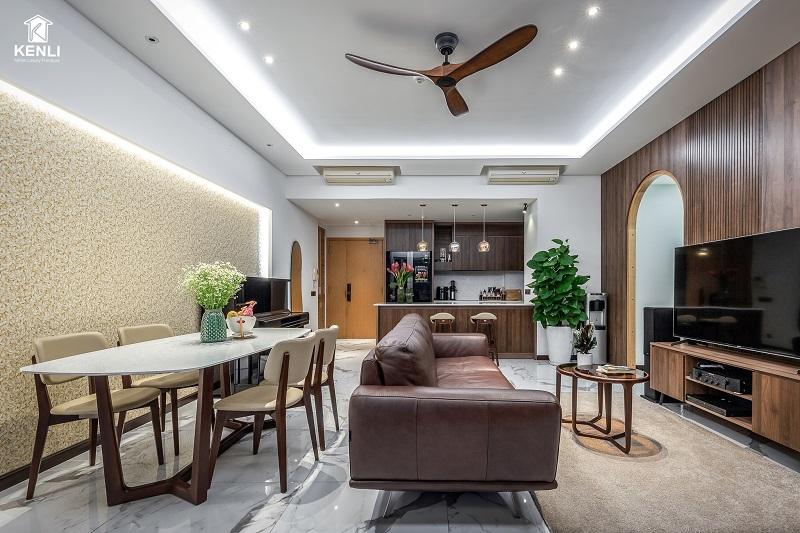 Sofa cho phòng khách nhỏ hẹp độc đáo và hiện đại