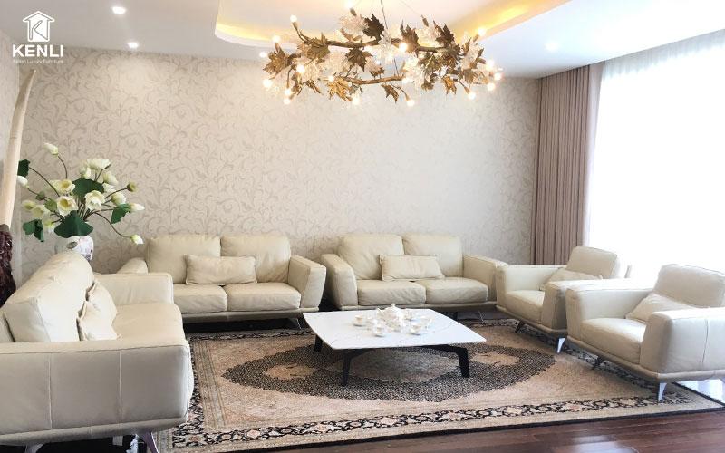 Những không gian rộng cho bạn thoải mái hơn khi lựa chọn sofa phòng giám đốc